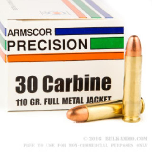 Where to find AMMO 30 Carbine 110gr FMJ Amscor 50 Rds in Cedar Rapids