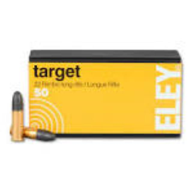 Where to find Eley Target .22LR Ammo 40GR RN 50-PK in Cedar Rapids
