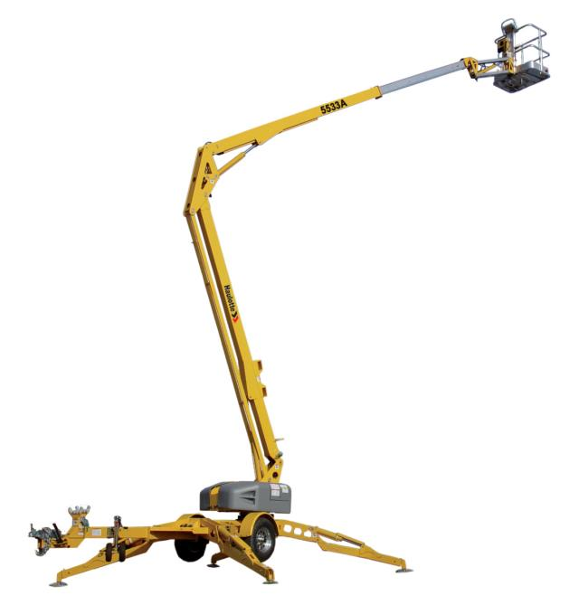 Where to find BOOM, 5533A TOWABLE ARTICULATING in Cedar Rapids