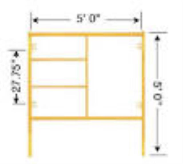 Where to find SCAFFOLD, FRAME FM5  5  X 5 in Cedar Rapids